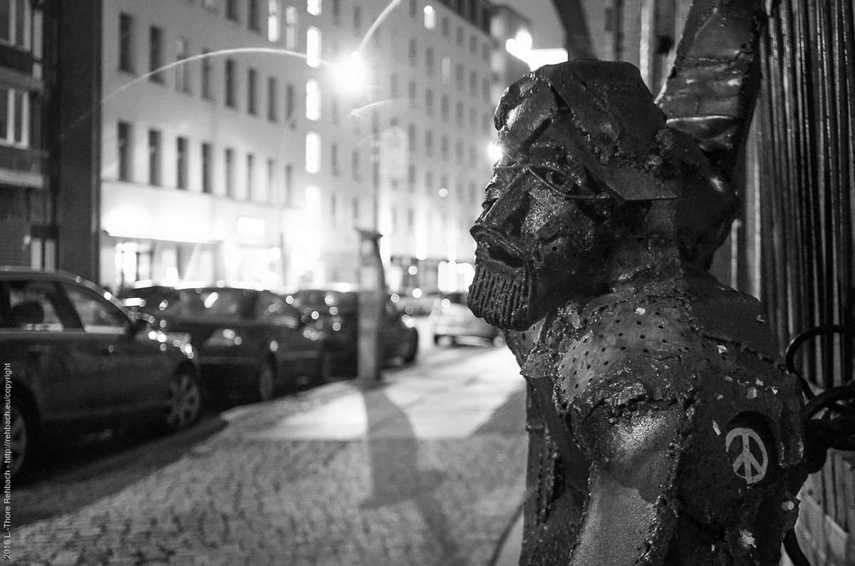 Streetart, Berlin Dircksenstrasse