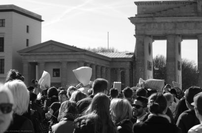 Pillow fight day in Berlin, 2016