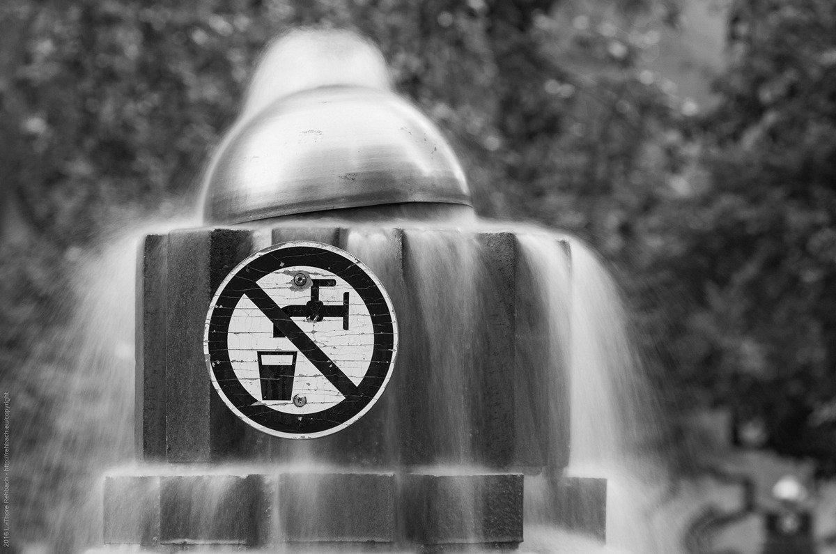 Wasser – nur gucken, nicht trinken