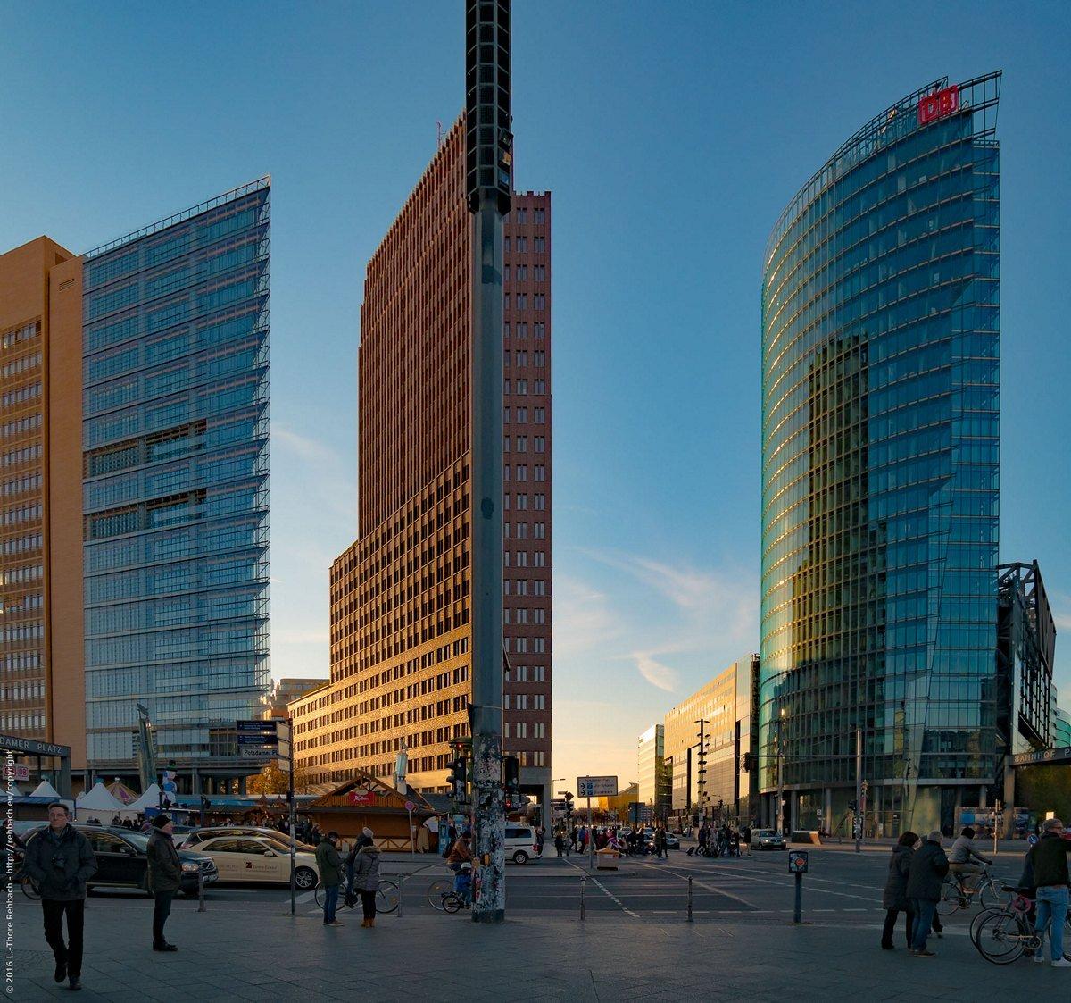Spätherbst am Potsdamer Platz