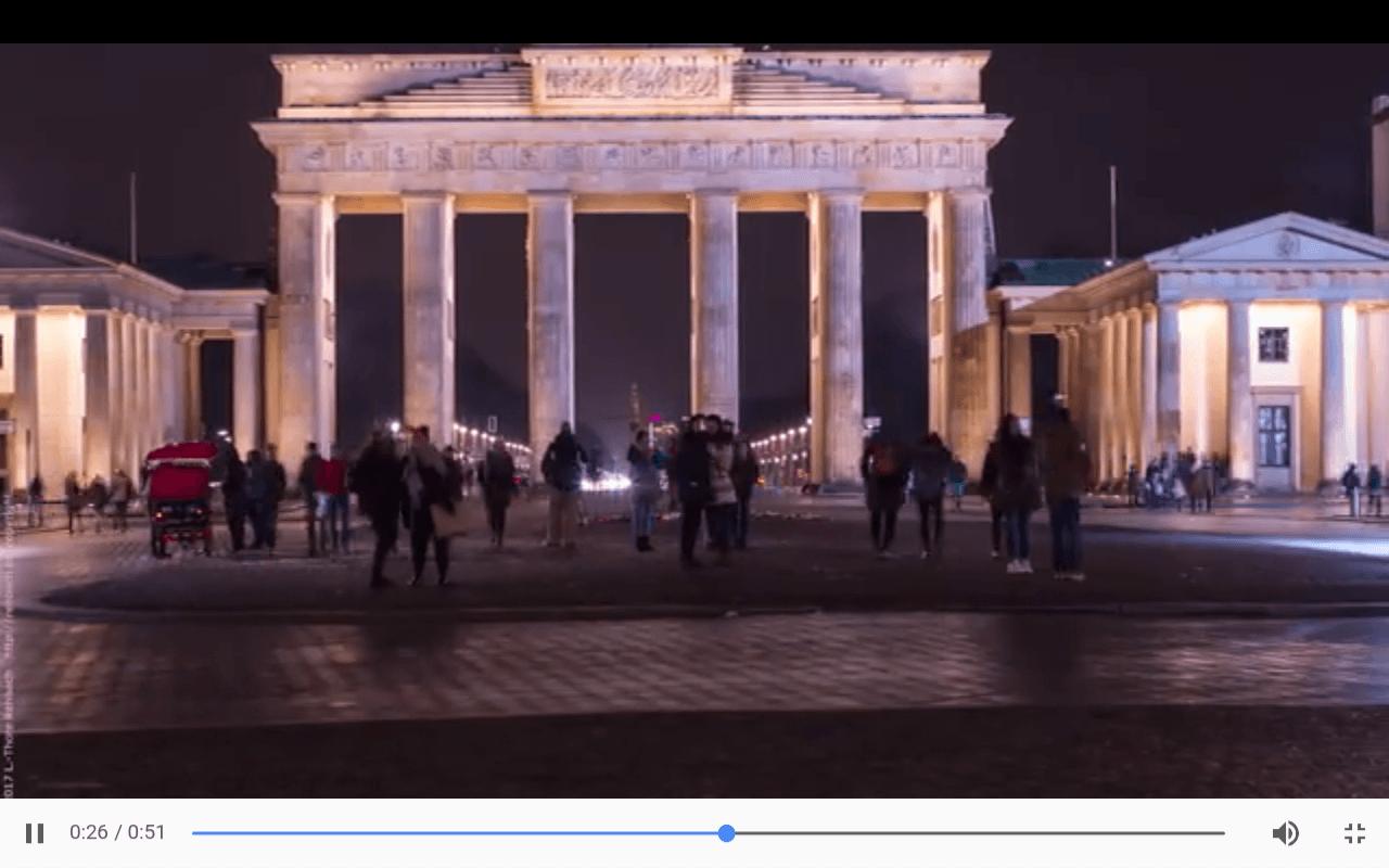 70 Grad – Brandenburger Tor