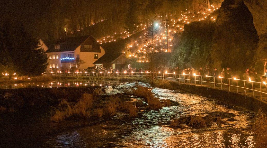 Happy New Year! - Lichterfest in Franken – Rehbach.eu - Bildermacher