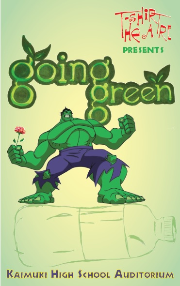 Going Green program cover