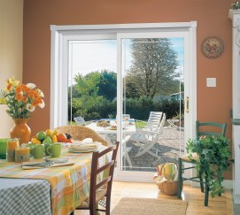 Sliding doors can add beauty and functionality to your dining room.