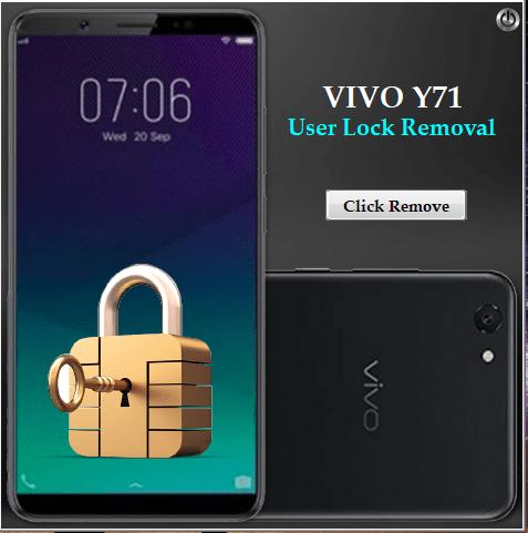 Vivo Y71 User Password Lock Remove Tool Download – ReHot Cpu Bro