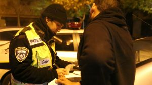 """חדשות רחובות - דו""""ח תנועה צילום: משטרת ישראל - רחובות ניוז"""