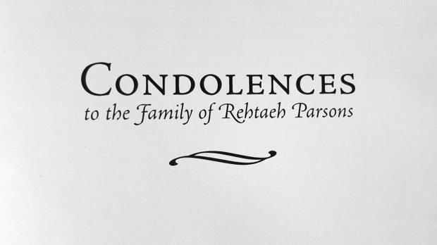 Book of Condolences