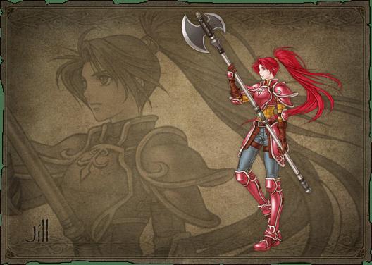 Jill Fizzart From Fire Emblem: Path Of Radiance