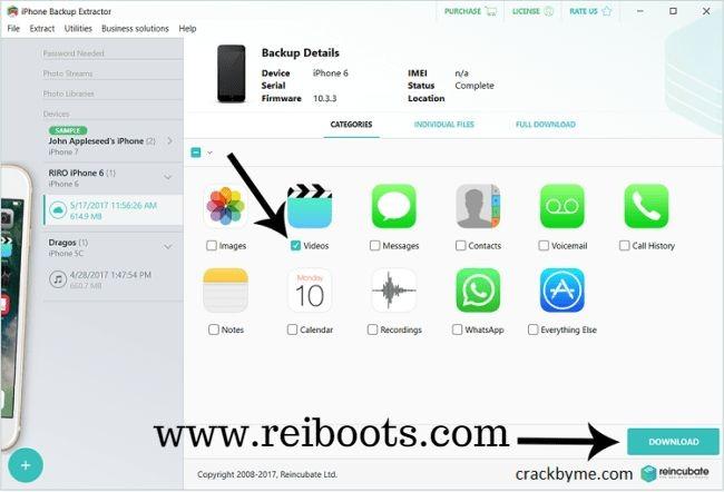 Iphone Backup Extractor 7.6.4 Crack + Serial Number & Keygen Free