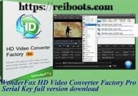 HD Video Converter Factory Pro 18.1 Crack + License Key