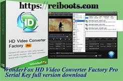 HD video Converter Factory Pro 17.0 Crack + Registration & Serial key