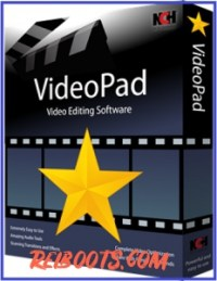 VideoPad Video Editor 7.23 Crack With Free Registration Code Download