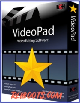 VideoPad Video Editor 8.09 Crack With Free Registration Code Download