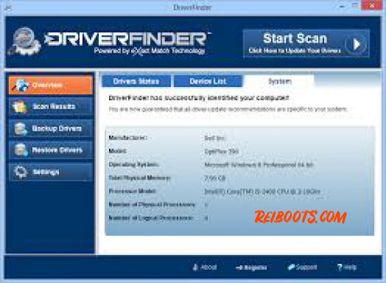 Driver Finder 3.7.2 Crack With License key + Keygen Free Download