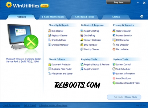 WinUtilities pro 15.74 Crack With License key Is Here! [Latest]