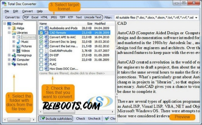Total Doc Converter 5.1.0.11 Full Crack With Free Serial key Download