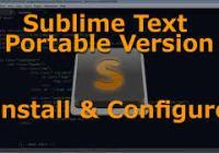 Portable Sublime Text 3.2.1 Build 3207 Crack Pulse License Key