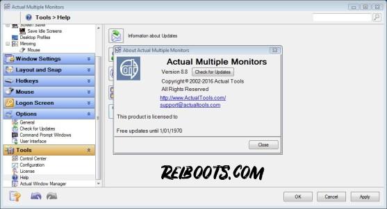 Actual Multiple Monitors 8.14.2 Crack + License key 2020
