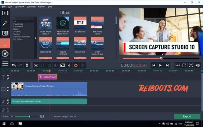 Movavi Screen Capture Studio 10.2.0 Crack With Activation Key &Keygen