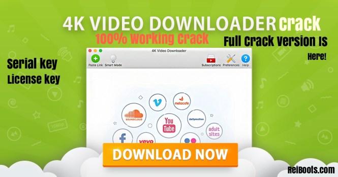 4k Video Downloader 4.8.0.2852 Crack Full Version 2019 Serial Key