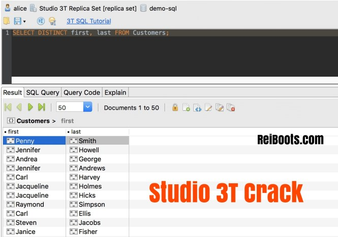 Studio 3T 2019.3.0 Crack Full Version License Key Free Download