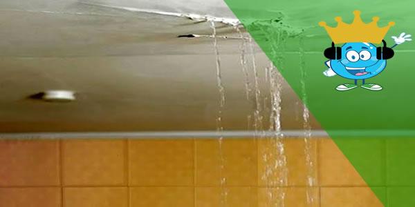 Vazamento no banheiro