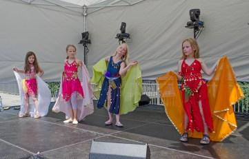 Orientalischer Tanz mit der LATIFAA Bauchtanzgruppe