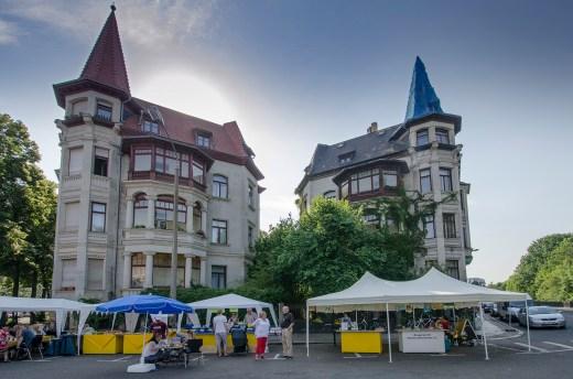 Der Stand des Bürgervereins Waldstraßenviertel e. V.