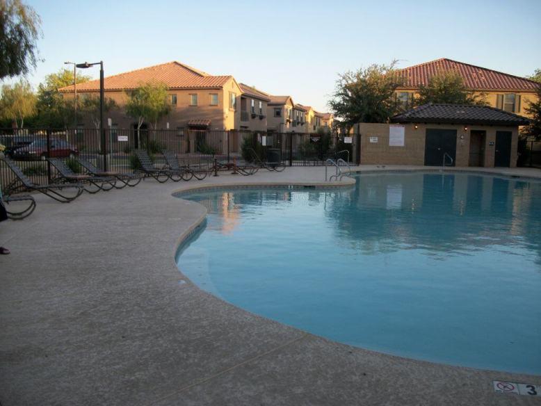 Resort like non heated pool