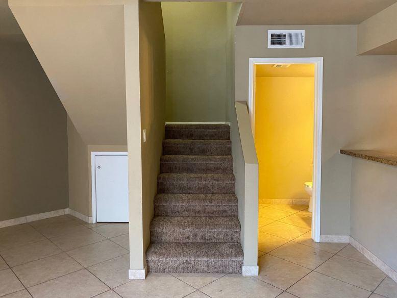 Stairs_Half Bath Downstairs