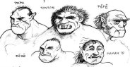 Famille Orc