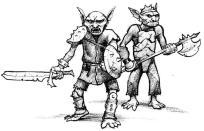 Guerriers Gobelins et leurs armures de bric et de broc