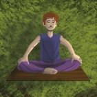 Fête de l'Enfance : garçon en train de méditer dans un arbre