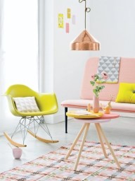 Fluro and pastels are a great mix.