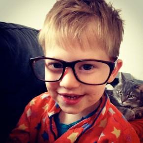 my new glasses