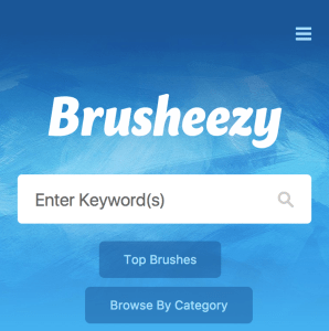 free graphic design resources. Brushes from brusheezy website