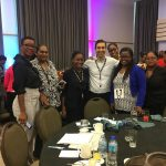The author and his friends at Table 17 at the The Facebook ConnectAmericas Challenge