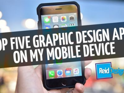 Graphic Design Apps. My top 5 & Why you should use them