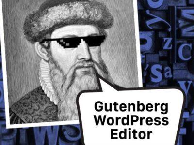 Posting with the New Gutenberg WordPress Editor