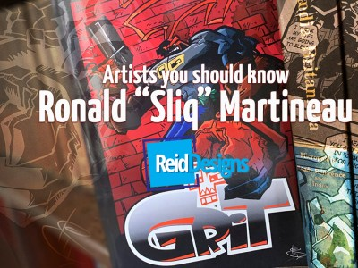 Grit graphic novel: A Review. A continuing series of Artists You Should Know
