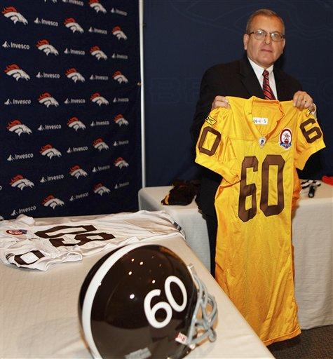 CORRECTION Broncos Draft Football