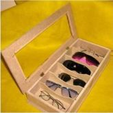 Caixa para óculos Madeira