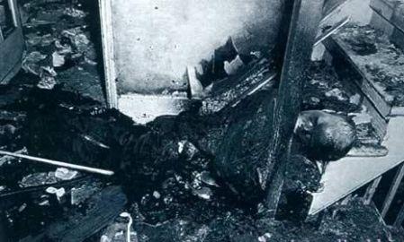 Robert Francis Bailey Victima de combustión espontánea