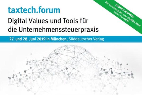 taxtech.forum: Vorstellung Smarte Reihengeschäfte