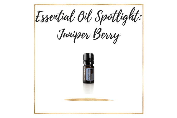 Essential Oil Spotlight: doTERRA Juniper Berry