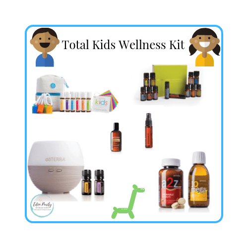 kids wellness essentila oil kit