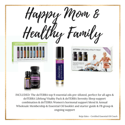 Happy Mom Healthy Family - essential oil kit