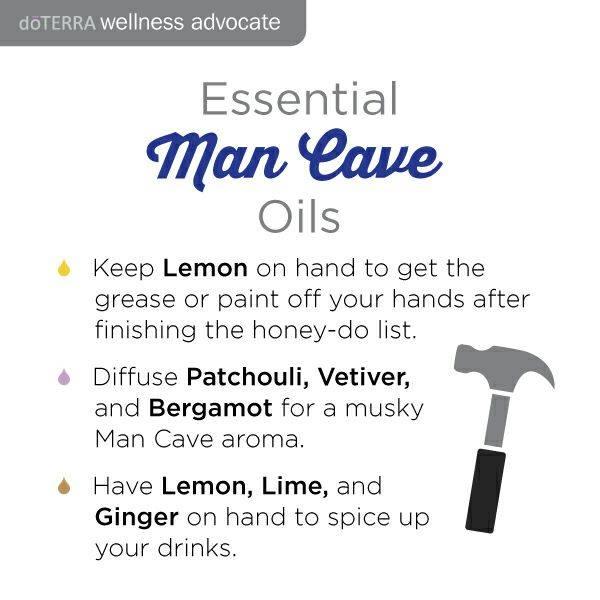 man cave oils