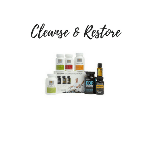 cleanse and restore starter kit