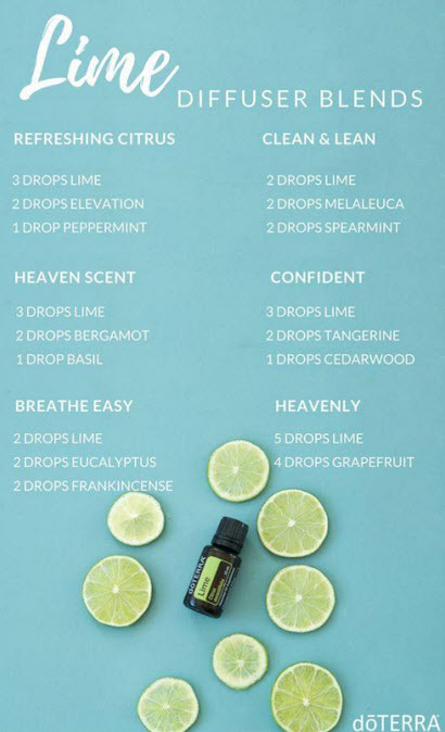 lime diffuser blends